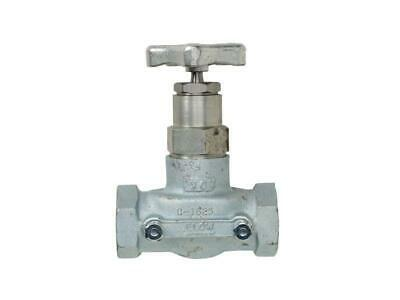 """Continental NH3 - 1-1/4"""" Globe Valve - A-1625 - 1-1/4""""FPT X 1-1/4"""" FPT"""