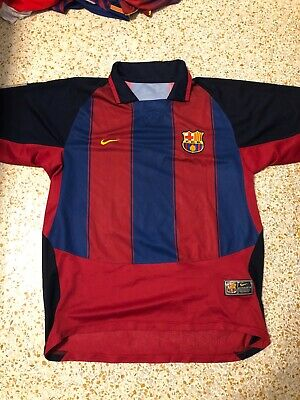 outlet store 9a668 48f96 NIKE FC BARCELONA Barca Sweatshirt Heavy Cotton Lionel Messi ...