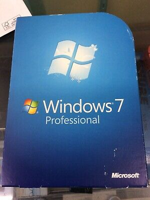Microsoft Windows 7 Professional Full 32 bit & 64 bit