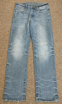 MENS 28 X 30 AMERICAN EAGLE OUTFFITERS JEANS Extreme Flex 4 ORIGINAL STRAIGHT