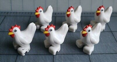 LEGO Duplo - Chicken Flock Family  6 Figure Pieces