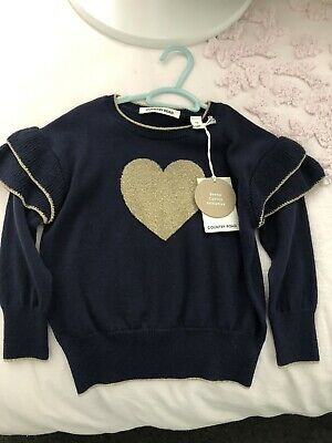 Country Road Girls Double Knit Jumper Size 3 Bnwt
