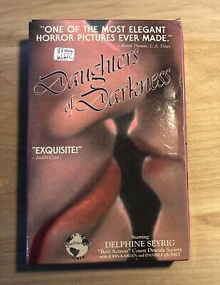 Daughters of Darkness VHS - Euro Horror Cult Classic Continental Video Big Box