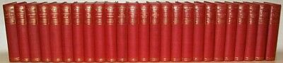COMPLETE WORKS of MARK TWAIN!! 25VOL's Library Faux Leather Gorgeous MINT+ RARE!