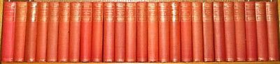 COMPLETE WORKS of MARK TWAIN! 25Vol's!Faux Leather Bindings Gorgeous RARE! gift