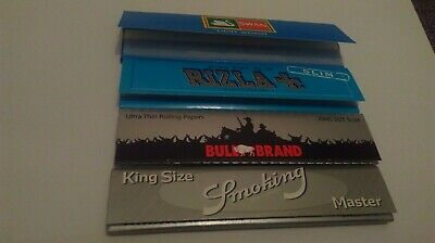 Rare Collectors Kingsize Cigarette Papers Collection