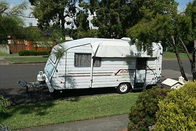 Windsor Sunchaser 17.5 feet Airconditioned Caravan