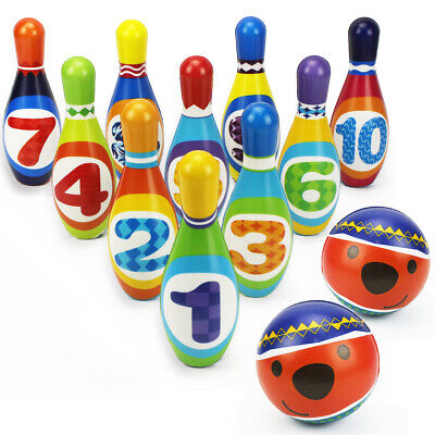 Kids Bowling Play Set, ,gift toys for 2,3,4,5 year old boy girl birthday gift