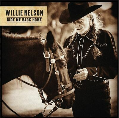 WILLIE NELSON - Ride Me Back Home CD *NEW* 2019