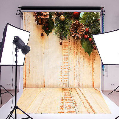 Retro Wood Plank Wall Floor Photography Backdrop Studio Photo Background