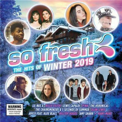 SO FRESH - The Hits Of Winter 2019 - Various Artists CD *NEW* 2019