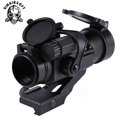 Tactical 1X32mm M2 Laser Sight w/ Reflex Red Green Dot Scope 1 MOA for Picatinny