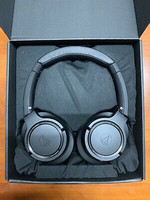 Audio Technica ATH SR50BT Wireless Headphones (BLACK)