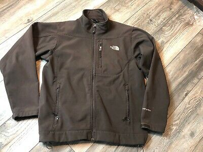 Men's THE NORTH FACE TNF Apex Full Zip Brown Jacket Size Large