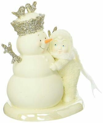 "Department 56 Snowbabies ""You're My King"" Porcelain Figurine, 5.31"""