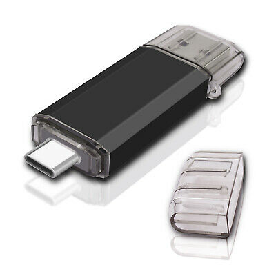 OTG Flash Drive 128G USB 3.0 Type-C Memory Stick Thumb Pen For Android Samsung