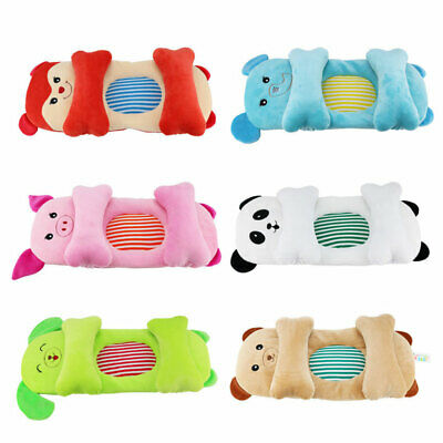 Newborn Infant Anti Roll Support Prevent Flat Head Memory Soft Pillow Animal Set