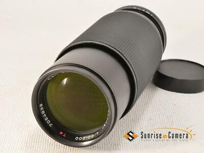 CONTAX Carl Zeiss T* Vario-sonnar 80-200mm F4 MMJ [EXCELLENT] from Japan (14996)
