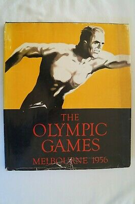 Olympic Games Collectable 1956 Melbourne Vintage The Olympic Games Colorgravure