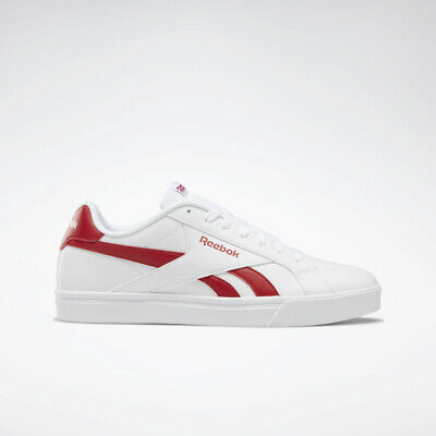 663b21523 New Womens Reebok ROYAL COMPLETE 3.0 LOW WHITE / RED DV8650 UNISEX SIZE  TAKSE