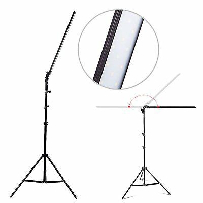 LED 30W Photography Studio Softbox Continuous Dimmable Lighting Light Stand Kit