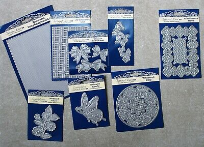 Reduced - Tattered Lace Whitework Bundle - Eight Dies + Free P&P