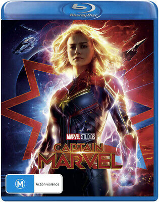 Captain Marvel Blu-ray Region B Brie Larson BRAND NEW SEALED FREE SHIPPING