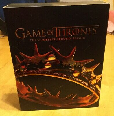 Game of Thrones: The Complete Second Season (Blu-ray Disc, 2014, 5-Disc Set)map