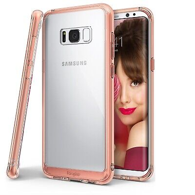 Ringke Fusion Impact Absorption Case for Samsung Galaxy S8+ Plus All Colours PZ