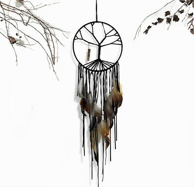 20cm Native American Branch Dream Catcher Feather Wall Hanging Decor Ornament AU