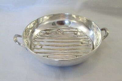 A Vintage Silver Plated Draining Dish - Elkington & Mason - 1865