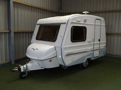 2012 Freedom Jetstream First Class 2 berth lightweight caravan + awning