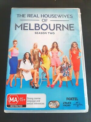 The Real Housewives Of Melbourne : Season 2 [ 3 DVD Set ] BRAND NEW & SEALED