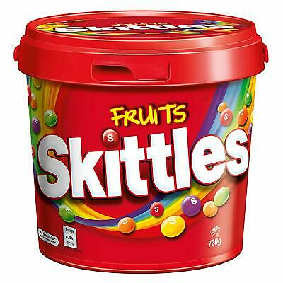 Skittles Fruit Party Bucket 720g x 2 Tubs