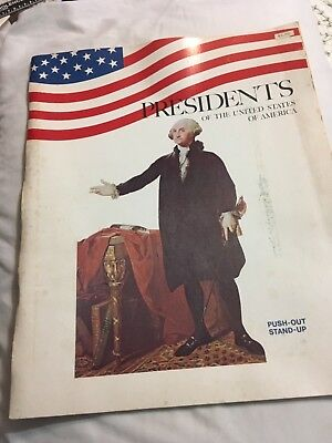 Presidents of the United States of America Push-Out Stand-Up book