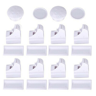 FABE Magnetic Cupboard Locks for Baby Safety Child Proofing (8 Locks + 2 Ke Z8A9