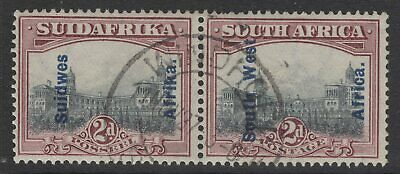 SOUTH WEST AFRICA SG49 1927 2d GREY & PURPLE FINE USED