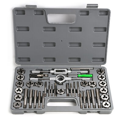 SAE & Metric Thread Renewing Tapping Threading Chasing tools Tap and Die Set