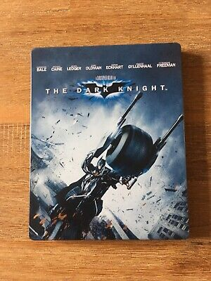 [Blu-ray] THE DARK KNIGHT (Steelbook, très bon état) Christopher Nolan