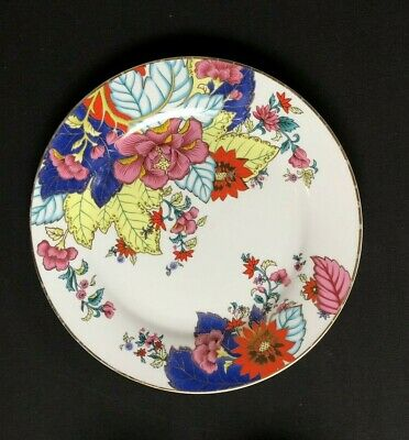 """Imperial Leaf China Tobacco Dinner Plate(s) Gold Trim 10 1/2"""" Floral"""