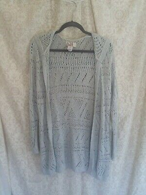 KOHLS JUNIORS SWEATER WITH HOOD So American Heritage Size L
