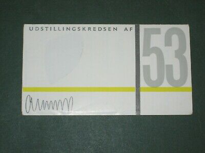 Vintage 1953 Danish Exhibition Furniture Designer Leaflet - Erik Ostermann