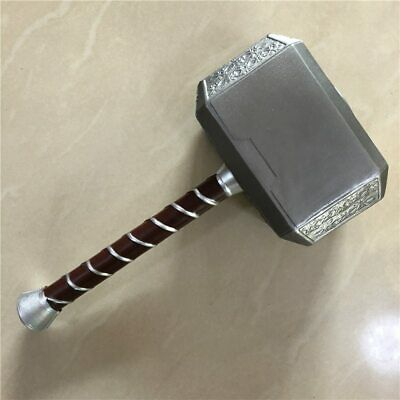 Hammer Thor Avengers Cosplay Mjolnir Replica 1:1 for Kids and Adults