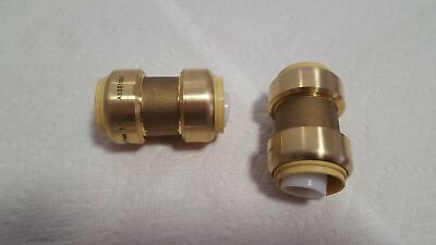 """3/4"""" Coupling Push Fitting~~Bag of 4~LEAD FREE!"""