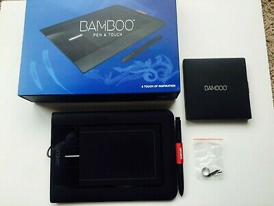 Wacom Bamboo Pen & Touch CTH-460 - Black Drawing Tablet