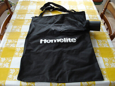 Homelite Electric Leaf Blower Vacuum Collection Bag Assembly 31118142AG UT42120