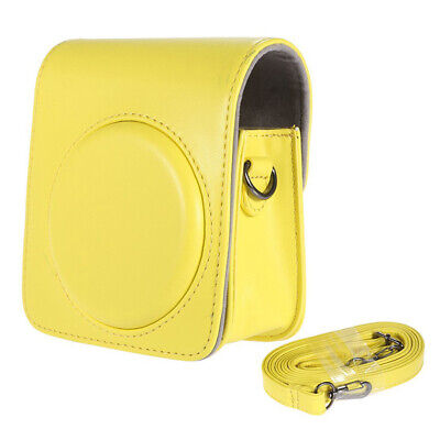 Classic Vintage Compact PU Leather Case Bag for Fujifilm Instax Mini 70 Ins A8J7