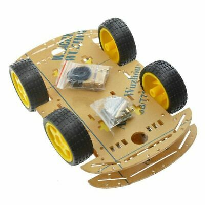 NEW 4WD Robot Smart Car Chassis Kits car with Speed Encoder for Arduino M26 M8T5