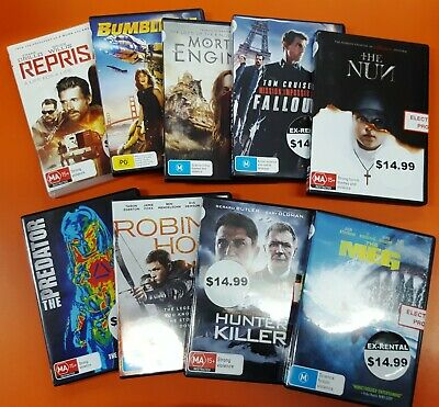 Quality Ex-Rental DVD's - Recent Releases