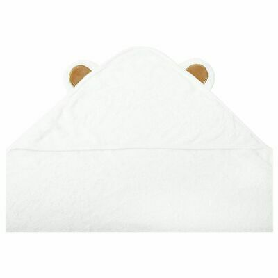 Extra Soft Rayon from Bamboo Baby Hooded Towel | Super Absorbent and Hypoal D1C9